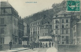 54) LONGWY-BAS : Tramway Sur Le Pont  (1910) - Longwy