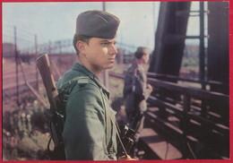 Propagandakarte Der DDR, Grenzsoldat ~ Um 1965 - Militaria