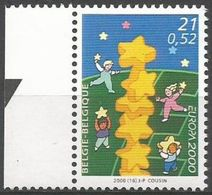 Belgium - 2000 Europa MNH **    Sc 1818 - Unused Stamps