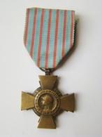 Croix Du Combattant (29 Juin 1930 ) Modèle 1914- 1918 - Francia