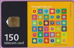 Télécarte Portugal °° 150 - Damier 36 Case - LG1 - RV 9166   ***   LUXE - De Luxo - Portugal