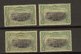 Congo Belge Ocb Nr : 16 * MH  (zie  Scan) Lot - 1894-1923 Mols: Mint/hinged