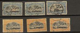 Congo Belge Ocb Nr : 21 22 Used  (zie  Scan) Lot - 1894-1923 Mols: Mint/hinged