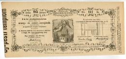 Hongrie Hungary Ungarn 1873 Budapest 50 Korona Golden Finance Ministry UNC - 2 Consecutive - Shareholdings
