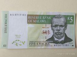 5 Kwcha 1989 - Malawi