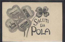 CROATIA POLA PULA OLD POSTCARD #10 - Croatia