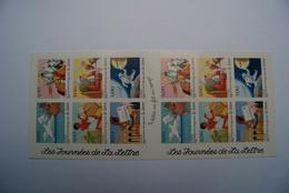 FRANCE 1998   YT N°BC3161A   EC 341    CARNET  LES JOURNEES DE LA LETTRE    ( Vendu Au Prix D'achat) - France
