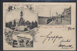 CROATIA POLA PULA GRUSS CENSOR S.M.S. GAMMA OLD POSTCARD #14 - Croatia