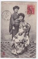 Tonkin - Femmes Japonnaises En Costume National - Viêt-Nam