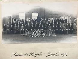 Harmonie Royale - Jemelle. Photo Originale 1934 - Rochefort