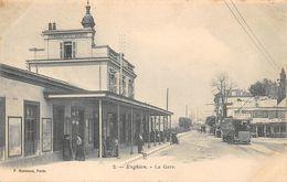 ENGHIEN LES BAINS - La Gare - Enghien Les Bains