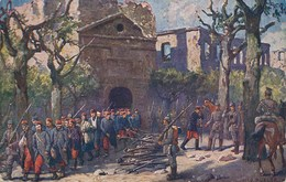 54) LONGWY : 26 Août 1914  Gefangennahme Der Besatzung - Armee Des Kronprinz Wilhelm - 1.WK - Longwy