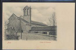 CROATIA POLA PULA CHURCH S.FRANCESCO OLD POSTCARD #18 - Croatia