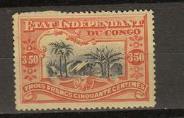 Congo Belge Ocb Nr : 27 * MH Heavy  (zie  Scan) - 1894-1923 Mols: Mint/hinged