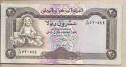 Yemen - Banconota Circolata QFdS Da 20 Rials P-26a - 1990 - Yemen