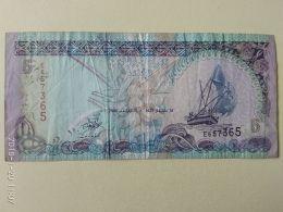 5 Rupie 2000 - Maldive