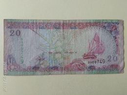 20 Rupie 2000 - Maldive