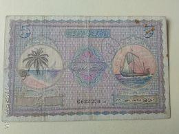 5  Rupie 1947 - Maldive