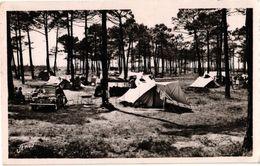 85 ... FORET DE SAINT JEAN DE MONTS  ... CAMPING ... RENAULT 4 CV  .... 1955 - Saint Jean De Monts
