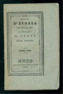 COPPI ANTONIO ANNALI D'ITALIA DAL 1750 SINO A' GIORNI NOSTRI TOMO IX LONGO 1838 - Books, Magazines, Comics