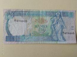 5 Lire 1967 - Malta