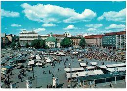 Ak Turku, Markt, Ungelaufern, Um 1980 (17n) - Finland
