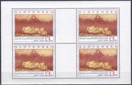Slowakei Slovakia Slovensko 1999 Kunst Kultur Gemälde Art Paintings Künstler Bazovsky Skutecky, Mi. 352-3 ** - Unused Stamps