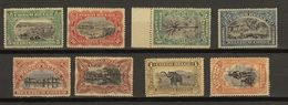 Congo Belge Ocb Nr : 64 - 71 ** MNH (zie  Scan) - 1894-1923 Mols: Mint/hinged