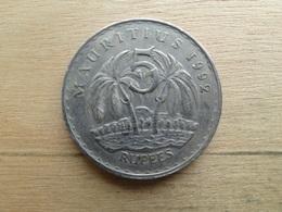 Maurituis  5  Rupees  1992   Km 56 - Mauritius