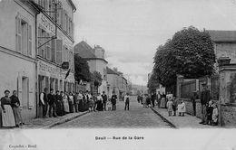 DEUIL - Rue De La Gare - Hôtel Restaurant - Deuil La Barre