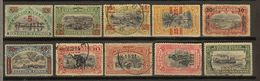 Congo Belge Ocb Nr : 85 - 94 (zie  Scan) - 1894-1923 Mols: Used