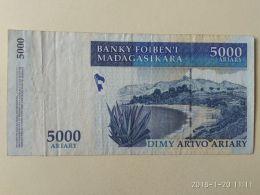 5000 Ariary  2008 - Madagascar