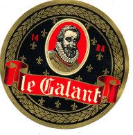 P 842 - ETIQUETTE DE FROMAGE -   CAMEMBERT   LE GALANT  14  B A  (CALVADOS) - Cheese