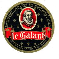 P 843 - ETIQUETTE DE FROMAGE -   CAMEMBERT   LE GALANT  14 B A  (CALVADOS) - Cheese