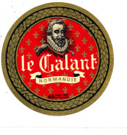 P 845 - ETIQUETTE DE FROMAGE -   CAMEMBERT   LE GALANT    NORMANDIE (CALVADOS) - Cheese