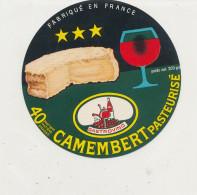 P 849 - ETIQUETTE DE FROMAGE -     LA CLOCHETTE  FAB. EN NORMANDIE  14 H. (CALVADOS ) - Cheese