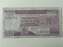 5  Rupie 1985 - Mauritius