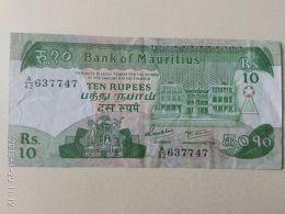 10  Rupie 1985 - Mauritius