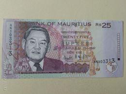 25  Rupie 2013 - Mauritius