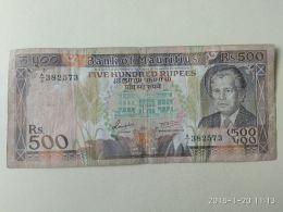 500 Rupie 1988 - Mauritius