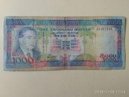 1000 Rupie 1991 - Mauritius