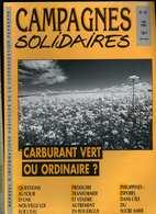 Campagnes Solidaires 42 Mai 1991 Carburant Vert, Loi Sur L' Eau, Rouergue, Philippines - Science