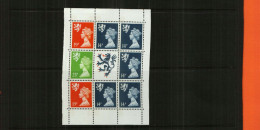 GREAT BRITAIN - QEII - 1989 - BOOKLET PANE - 8 Stamps + Centre Label - MNH - 1952-.... (Elizabeth II)