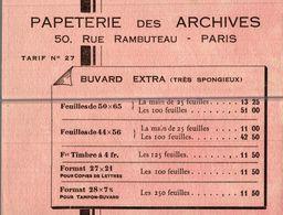 PAPETERIE DES ARCHIVES - Stationeries (flat Articles)