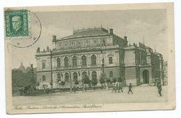 Pragues/Praha: Budova Narodniho ShromazdeniRudolfinum. Imprimé RECP Cachet Stanislav HANUS. Tchécoslovaquie - Tchéquie