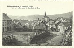 Comblain - Fairon -- L' Entrée Du Village Par La Vieille Route De Comblain - La - Tour.   (2 Scans) - Comblain-au-Pont