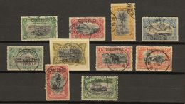 Congo Belge Ocb Nr : 40 - 49  (zie  Scan) Typo - 1894-1923 Mols: Used