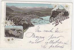 Gruss Aus Bregenz - Litho - 1900         (A-66-100416) - Bregenz