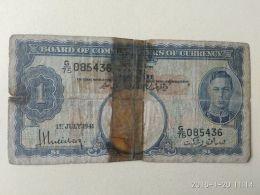 1 Dollaro 1941 - Malesia