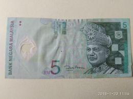 5 Ringgit 1999 - Malesia